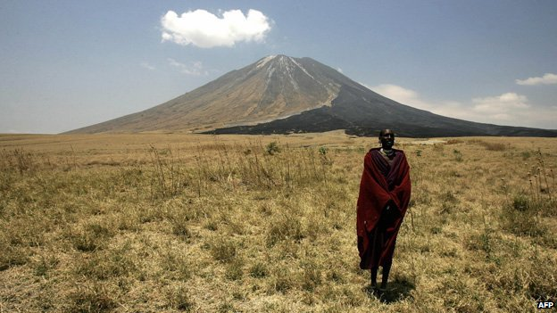 The Mountain of God or Ol Doinyo Lengai - is part of the Great Rift Valley in Eastern Africa