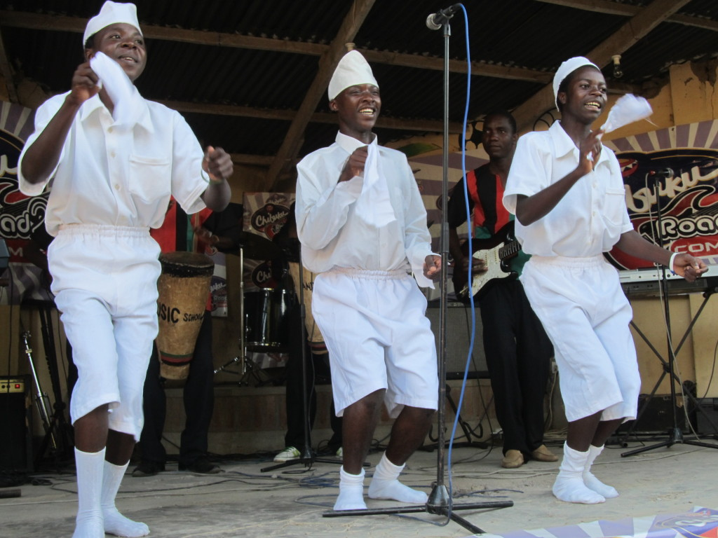 Andiamo Music School performing at Zembani Lodge in Chibuku Road to fame competition