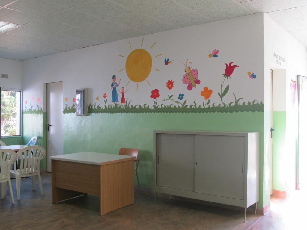 New look; inside the Paediatric ward