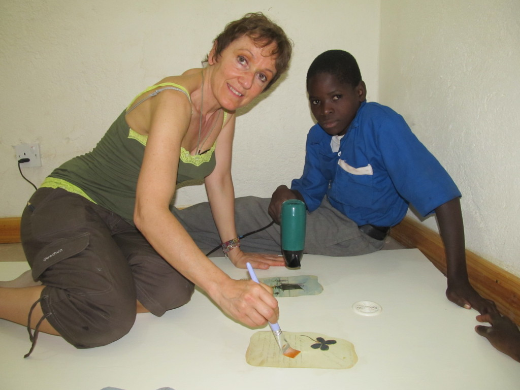 dona teaching Pemphero