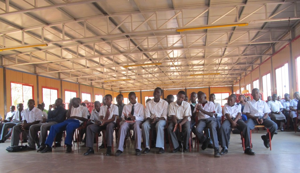 Cross section of students who have  reported for school