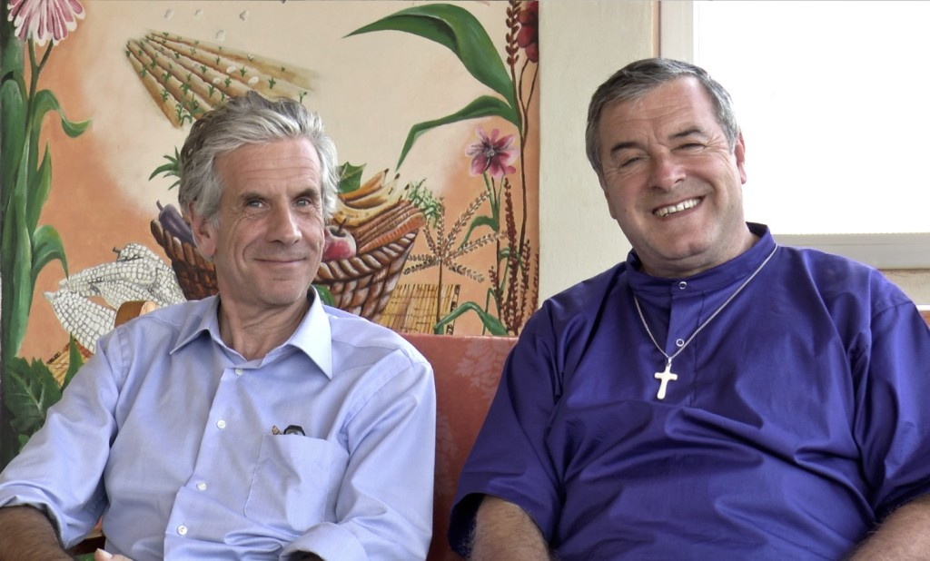 Fr Mario Pacifici with Dr. Mauro