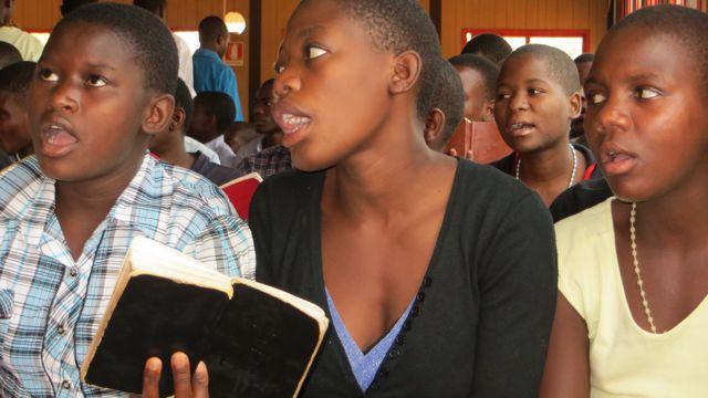 Students choir