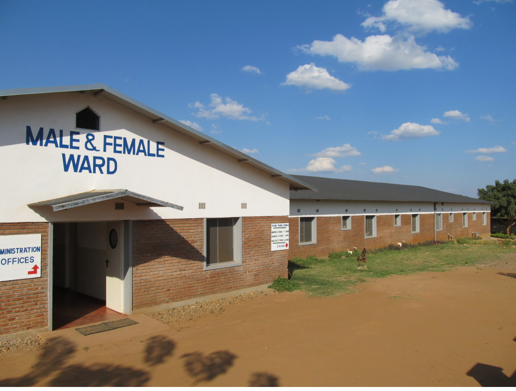 Male and female ward at Comfort Community Hospital