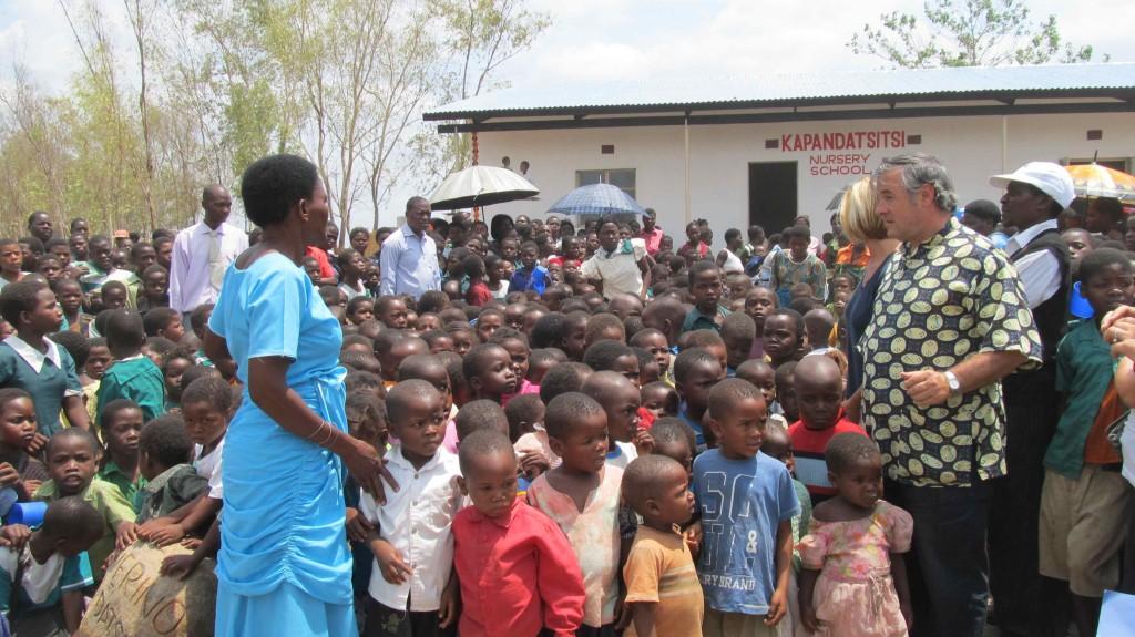 File Photo: On the opening day of Kapandatsitsi Nursery School