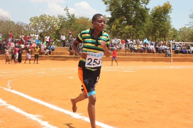 Eneless Aufi, a Form One Student at Andiamo Secondary School