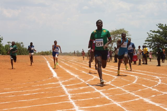 Gift Kawale during the recent Inter Schools Hope Trophy