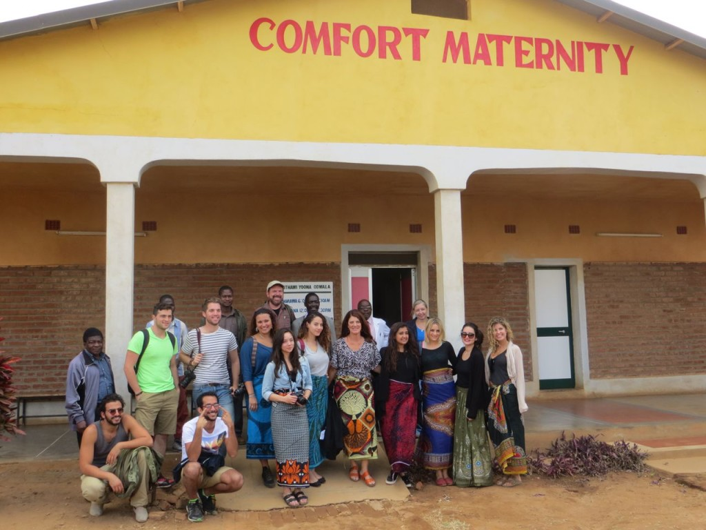 The group at Comfort Community Hospital